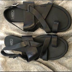 Franco Sarto Strappy Sandals size 8